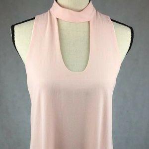 NWT Mary & Mabel Size S Blush Dress Sleeveless